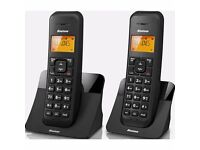 BINATONE Luna 1105 CordlessTelephone - Twin black