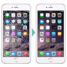 iPhone screen replacement service. Lisburn