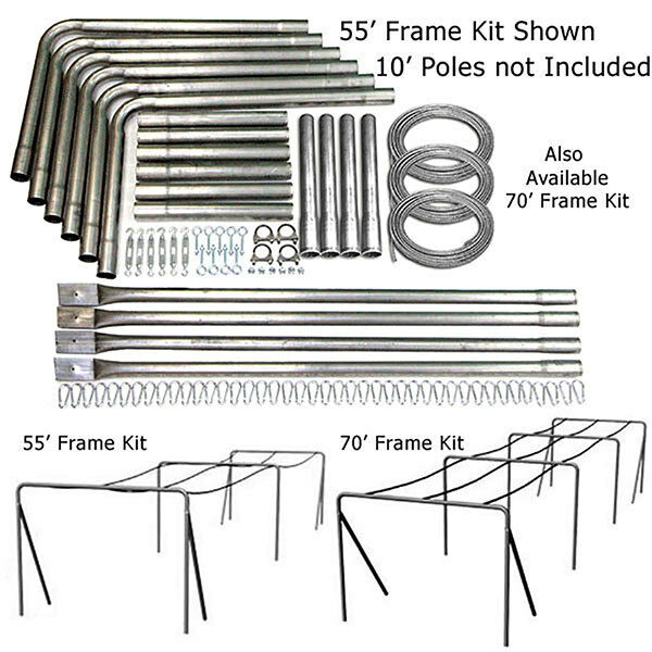 Batting Cage Commercial Frame Kit X-Heavy Duty 55