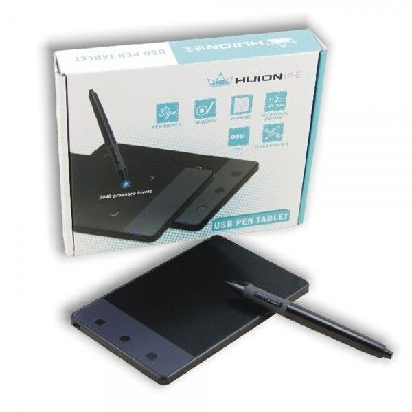 Huion H420 Portable Hand Writing OSU Digital Pen Tablet Signature Pad   in  Winsford, Cheshire   Gumtree