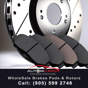 !AutomCars offers Brake Pads-&-Set of Rotors @ $Free Shipping$!