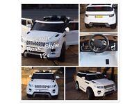 Range Rover HSE Style, 12v, Parental Remote & Self Drive,