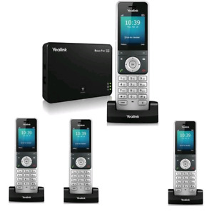 Yealink W56P HD IP DECT VOIP Cordless Phone(4Handsets) BRAND NEW