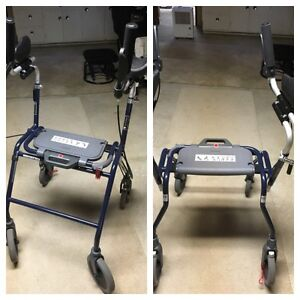 New Hood Quality Mobility Walker/Wheels/Forearm Rests