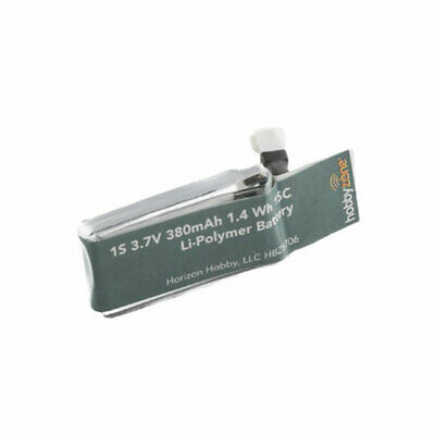 HobbyZone HBZ8706 LiPo Battery 380mAh 1S 3.7v: Zugo 2MP HD Camera Drone