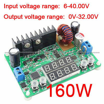 32v 5a 160w Digital-controlled Step-down Buck Power Supply Constant Voltcurrent
