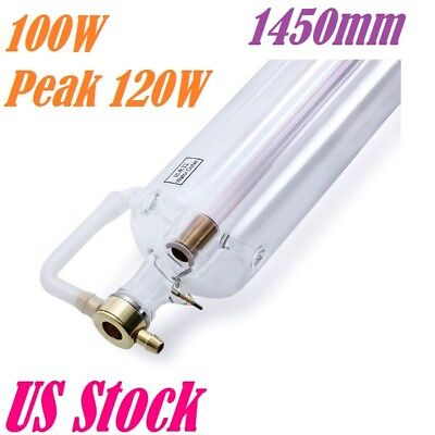 Efr 100w Peak 120w Co2 Laser Tube 1450mm For Laser Engraver Reci Replacement