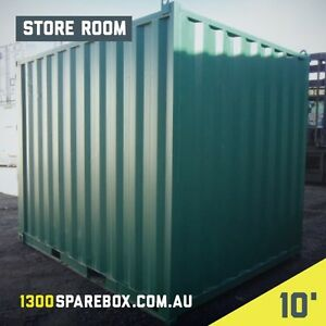 10FT SHIPPING CONTAINER - IDEAL STORAGE SHED WITH LOCKBOX Melbourne CBD Melbourne City Preview