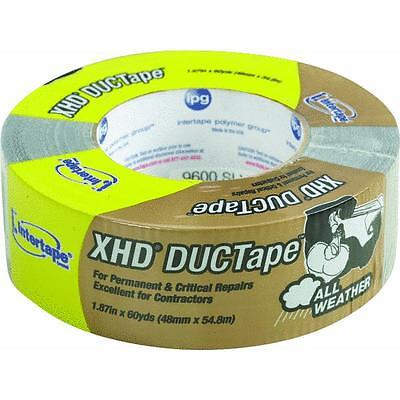 2x60yd Silver Duct Tape Intertape Polymer 9600-sl 24 Roll Pk Mend Repair