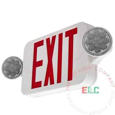Beghelli Exit Sign Red Letters With Lights