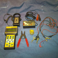 Mixed Lot of Automotive Electrical tools, meters & testers