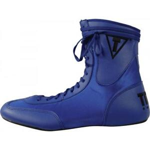 TITLE Low Top Boxing Shoes, Blue, Size 8, Like New!
