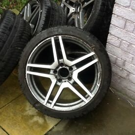 Quick sale 18inch wheels going for cheap price
