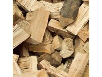 Fully seasoned hardwood logs Delivering firewood throughout Angus + Tayside daily Bulk bags or loose