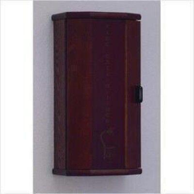 Wooden Mallet Fire Extinguisher Cabinet - 5 Lb. Capacity Mahogany Fec10mh New