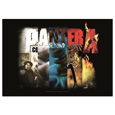 PANTERA Collage Tapestry Cloth Poster Flag Wall Banner New 30