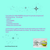 In Home Weight Loss Challenge