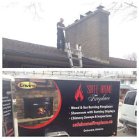 Chimney Cleaning / Sweep Service - Advanced WETT Certified