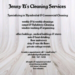 Cleaner available in Havelock a surrounding areas!