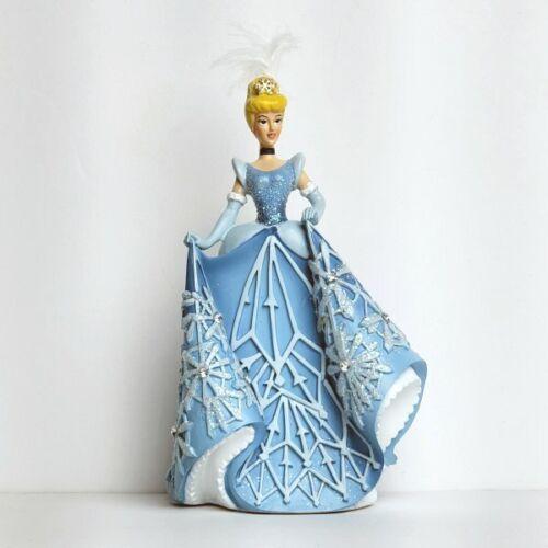 "Bradford Exchange Disney Snowflake Splendor Cinderella Figurine 6"" NIB"