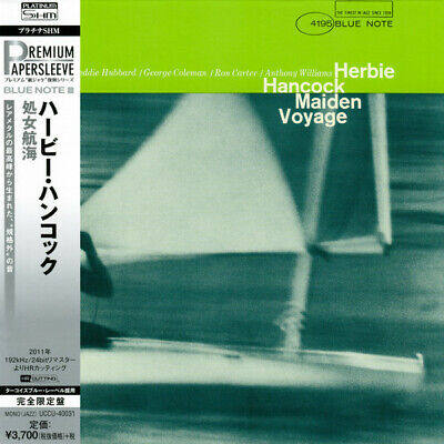 HERBIE HANCOCK, MAIDEN VOYAGE, LTD ED PLATINUM SHM-CD, JAPAN 2016, UCCU-40031