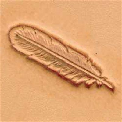 8502 Feather Craftool 3-D Stamp Tandy Leather 88502-00