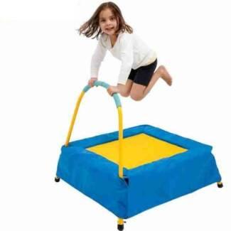 Action Junior Jumper Mini Trampoline with Handle
