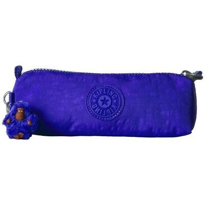 NWT Kipling Fabian Pencil Pouch Cosmetic Bag Pen Case  Sapphire