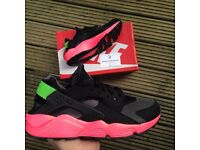 Nike Huarache hyper punch UK 7