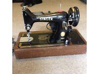 Singer sewing machine electric