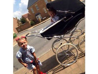 Coach built silver cross Pram Kensington
