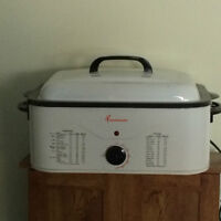 Electric Portable Roaster For Indoor/Outdoor Use.