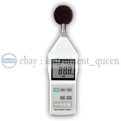 Tenmars Tm-101 Sound Level 30130db Noise Meter Tester New