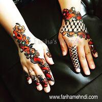 Henna /Mehndi Artist Avaialbale