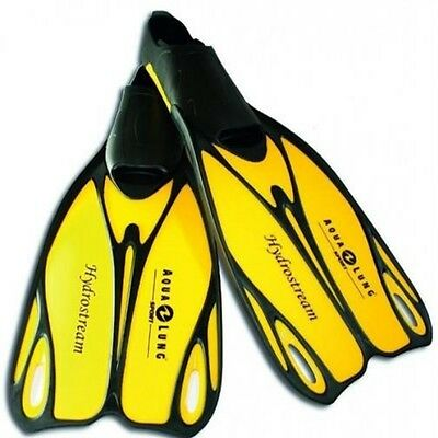 Aqua Lung Hydrostream Taucherflosse Flosse Gelb-Schwarz Größe 28 - 47 Auswahl