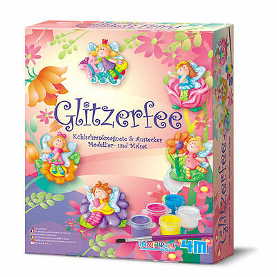 Mould & Paint - Glitzerfee - Gips- Mal- Bastelset