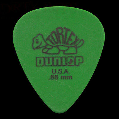 Dunlop Tortex Standard Guitar Picks Green 0.88mm - In Packs Of 6 10 12 20 or 24