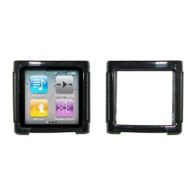 for Apple iPod Nano 6 Poly Skin Case, Black Apple Ipod Nano Skin