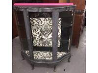 VINTAGE UP-STYLED CHINA CABINET