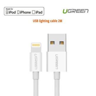 Ugreen Lighting to USB cable - 2M 20730