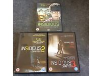Top DVD Horror boxset ( Insidious Trilogy 1-3 )