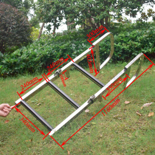 3 Step 304 S.S Boat Marine Ladder Dock Ladder Swimming Pool Ladder Awesome