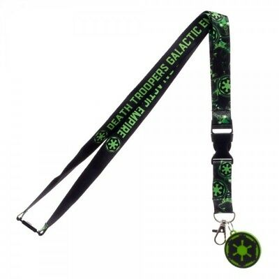Star Wars Rogue One Empire Lanyard Neck Strap Necklace ID Holder Keychain