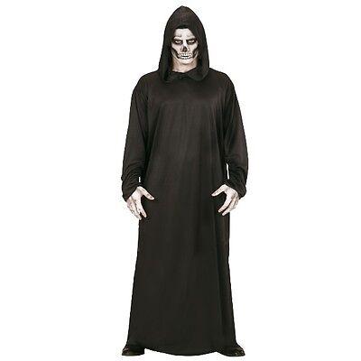 ROBE MIT KAPUZE - SENSENMANN TOD GRIM REAPER 48/50 (M) Herrn Kostüm - Grim Reaper Robe Kostüm
