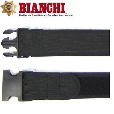 """Bianchi AccuMold Sam Brown Nylon Gürtel 2 1/4"""", Medium"""