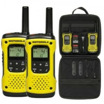 Motorola TLKR T92 H20 Two Way Radio Walkie Talkie Licence Free Twin Set