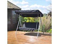 2 Seater Swinging Hammock Bench Seat with Canopy (FREE LOCAL DELIVERY)