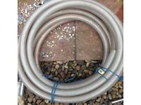 10+ meters of amoured 30mm pipe