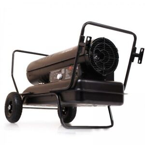 NEW 51KW DIESEL HEATER SHOP PORTABLE FUEL K175 ONLY $ 399.