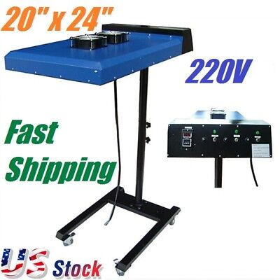 20 X 24 Screen Printing Ir Flash Dryer With Sensor For T-shirt Printing 6000w